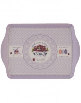WITH LOVE dinner tray 30x22 cm