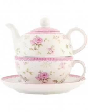 ERTEFO tea pot with cup