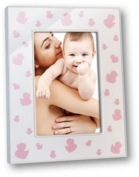 Tesorina 10x15 cm Baby frame ducky pink