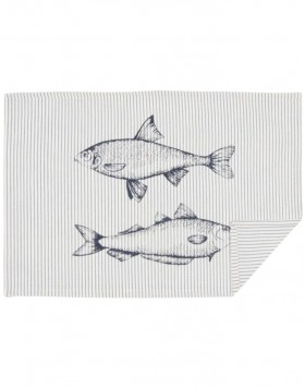 Tischset 6 St�ck 48x33 cm Boat and Fish