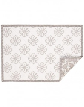 Tischset 6 St�ck 48x33 cm Mixed Patterns grau
