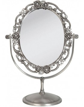 table mirror 62S028 Clayre Eef 18x10x26 cm
