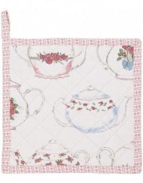 Topflappen 20x20 cm Teapots and Cups