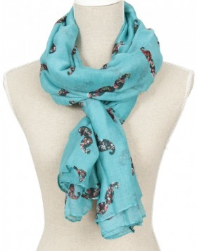 110x180 cm synthetic scarf SJ0362BL Clayre Eef