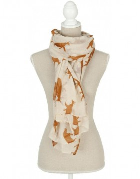scarf SJ0532W Clayre Eef in the size 90x180 cm