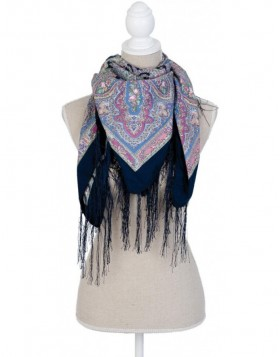 scarf SJ0554BL Clayre Eef in the size 100x100 cm
