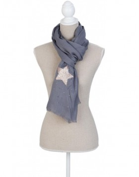 70x190 cm synthetic scarf SJ0639G Clayre Eef