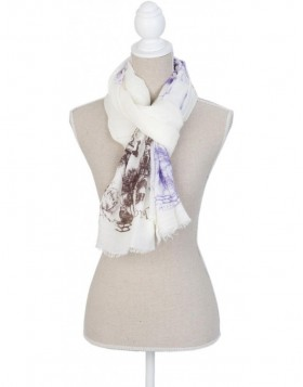 70x180 cm synthetic scarf SJ0655 Clayre Eef