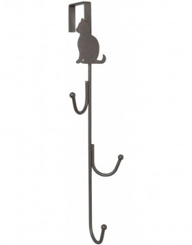door hook CAT brown 7x30 cm