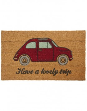 brown/red doormat  - MC095 Clayre Eef