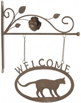 doorplate Welcome/Cat 6Y1373