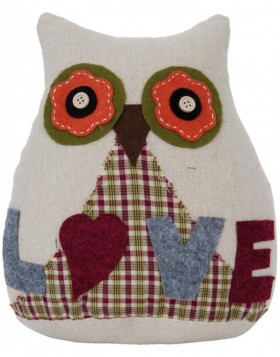 door stopper OWL made of cotton