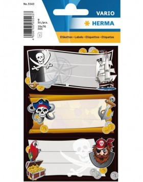 Sticker VARIO pirates