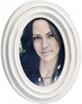 photo frame viola 13x18 cm white