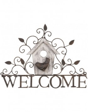 WELCOME hanging decoration 35x27 cm