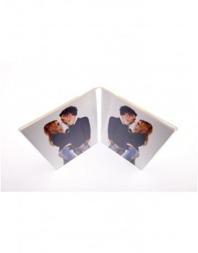 Walther acrylic photo frame Double Double frame 4.5x6 cm...