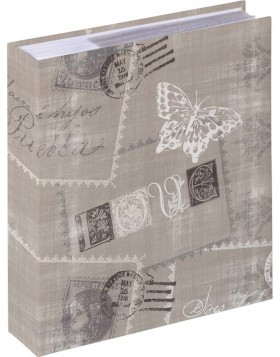 Cosenza slip-in album - 200 photos 10x15 brown