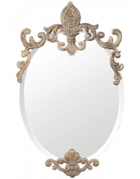 Wall mirror 52S038 gold 33 x 52 cm