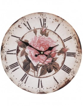 clock flowers - 6KL0284 Clayre Eef