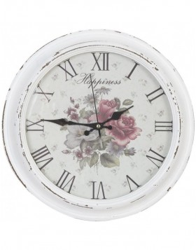 HAPPINESS Wall Clock � 39 cm