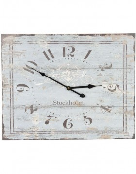 wall clock natural - 6KL0212 Clayre Eef