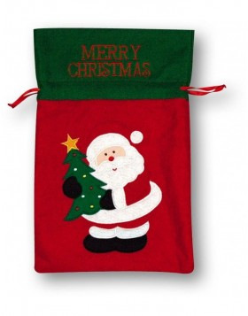 Christmas gift bag 25x26 cm