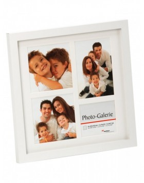 metal gallery frame WHITE GALLERY for 4 photos