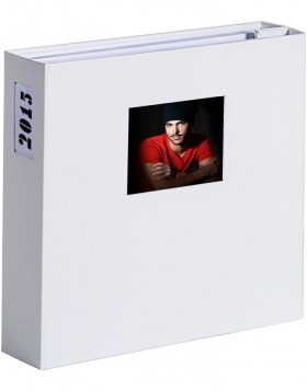 XL photo album 1000 photos 10x15 cm LONA white