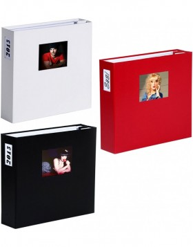 XL photo album 1000 photos 10x15 cm LONA white sides