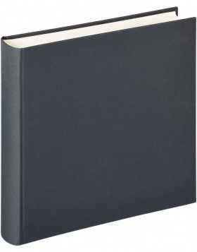 XL photo album Lino 34x35 cm dark gray