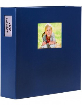 XL photo album LONA blue