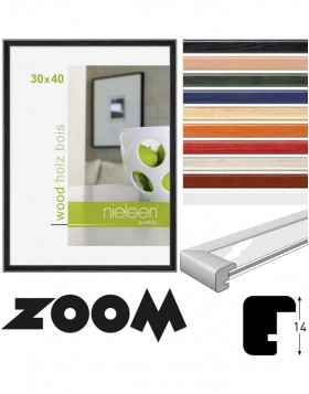 Zoom wooden frame 10x15 cm to 40x50 cm