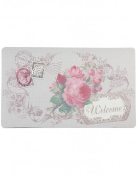 antike T�rmatte WELCOME 74x44 cm