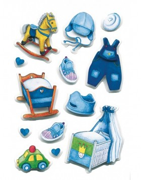 3D-Sticker BOY ACCESSORY - MAGIC, self adhesive
