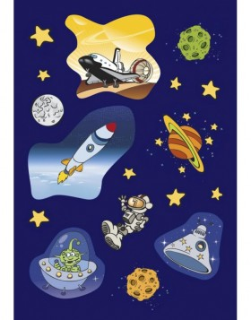 Colourful stickers Outer Space - self adhesive, DECOR