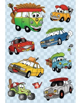 Stickers CARS with moving eyes - MAGIC-Reihe