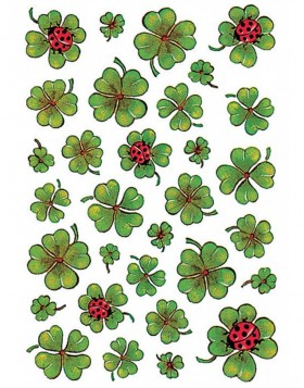 decorative labels Clover - DECOR