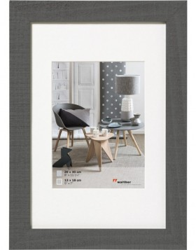 Home wooden frame 20x30 cm grey