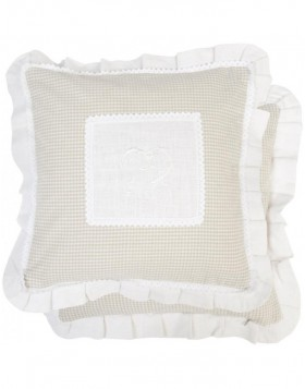 Light Pillow 40x40 cm natural