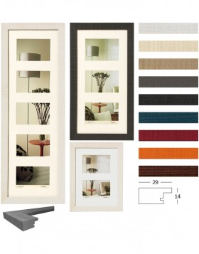 Gallery Home frame 10x15 cm, 13x18 cm, 15x20 cm - 2-5 Photos