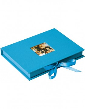 Photo Gift Box Fun ocean blue 13x18 cm