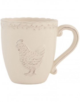 mug with handle CHICKEN
