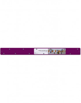 Strips purple magnetic bar 28x2.4