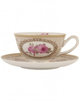 6CE0365N Clayre Eef collector?s cup ROSE - colourful