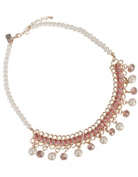 necklace salmon B0300431 Clayre Eef