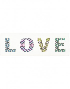 62814 Clayre Eef wall decoration LOVE