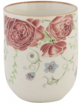 6CEMU0020 Clayre Eef mug Roses - colourful
