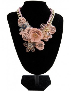 necklace pink B0300603 Clayre Eef