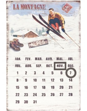 62602 Clayre Eef calendar (french)