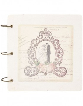 notebook BRIDAL PAIR 6PA0317 by Clayre Eef